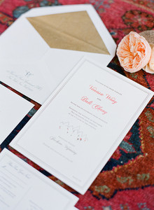 Romantic invitation set