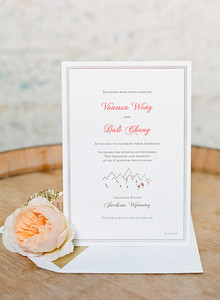 Romantic invitation