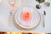 Modern, Rustin Wedding Place Setting