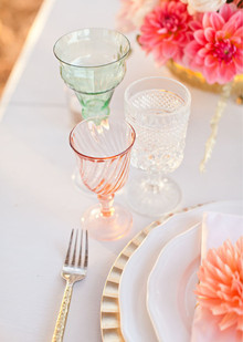Rustic Wedding Glassware