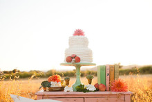 Modern, Rustic Wedding Dessert Table