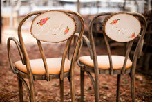 Modern, Rustic Wedding Chair Signage