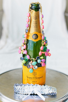 Veuve Cliquot and bridal accessories