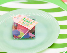 Modern, Colorful Favors