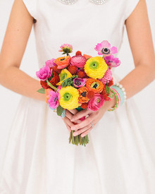 Modern, Colorful Bouquet