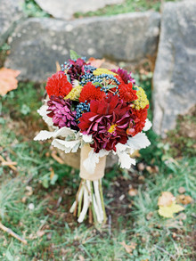 Rustic Fall Wedding Bouquet