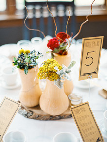 Rustic Fall Wedding Florals