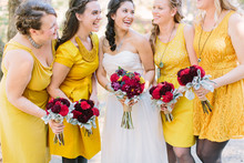 Rustic Fall Wedding Bridesmaid