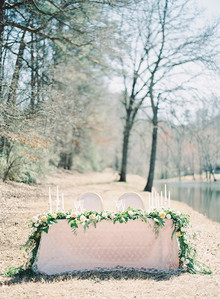 White Garden Wedding Inspiration
