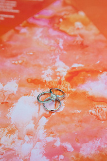 Whimsical California Wedding Rings