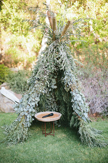 Whimsical California Wedding Decor