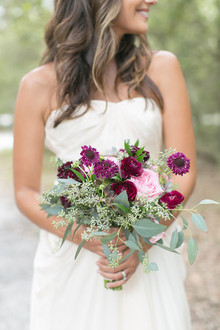 Modern Bohemian Wedding Bouquet