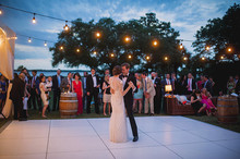Elegant Playful Charleston Wedding Dance Floor