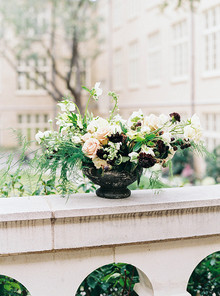 Organic garden wedding inspiration