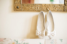 Intimate Garden Wedding Shoes