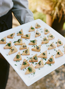 Triangular appetizers