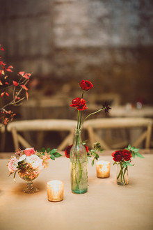 Flower table decor