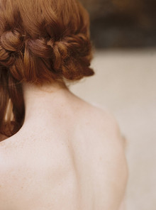 Chignon bridal hairstyle