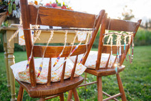 Southwest bohemian chair decor