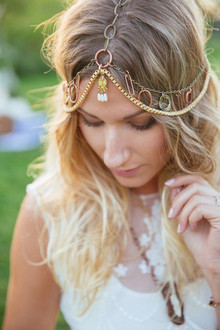 Bohemian headpiece