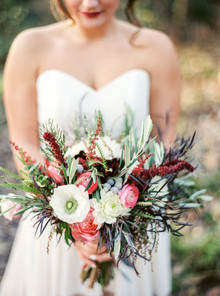 Bohemian fall inspired bouquet