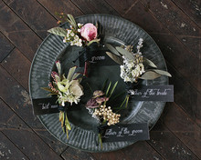 Industrial Wedding Boutonnieres