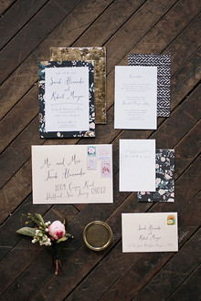 Industrial Wedding Invitation