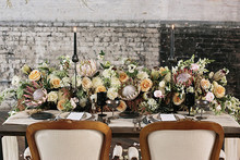 Industrial Wedding Tablescape