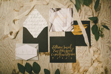 Rustic Black and White Wedding Inspiration