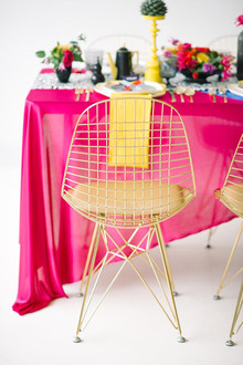 DVF Bridesmaid Party Inspiration Furniture Rentals
