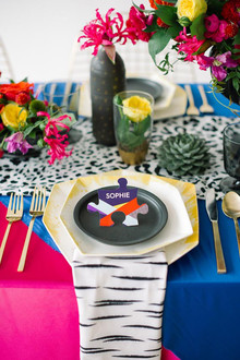 DVF Bridesmaid Party Inspiration Place Setting