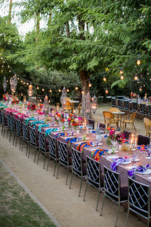 Parker Palm Springs Wedding Tablescape