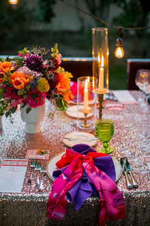 Parker Palm Springs Wedding Table Decor
