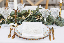 Grecian inspired wedding