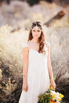 Desert bride headpiece