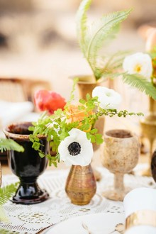 Bohemian glassware and vases