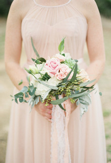 Blush chic bouquet