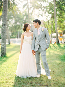 Bali wedding portrait