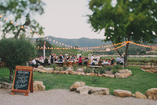 HammerSky Vineyards wedding reception