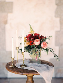Italian inspired wedding decor