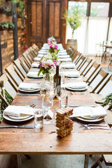 Brooklyn Winery wedding tablescape