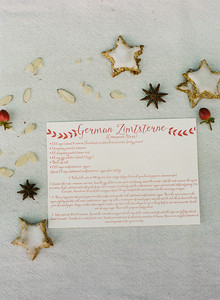 German cinnamon star recipe