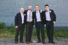 Upstate New York wedding groomsmen