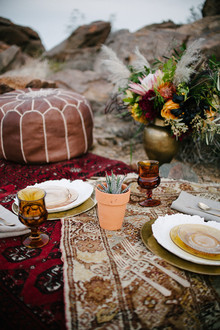 Bohemian desert decor
