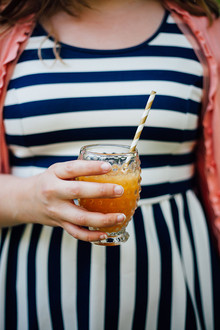 cocktails and stripes