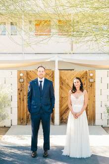 Ace Hotel wedding portrait