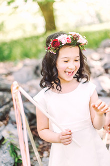 Flower girl portraits