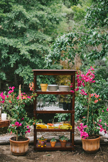 Spanish-style wedding decor