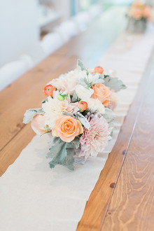 peach arrangement