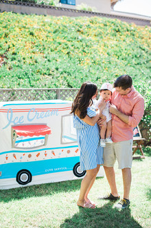 Ice Cream truck 1st birthday party